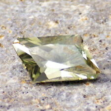 GREEN-GOLD OREGON SUNSTONE 1.93Ct VS2-FROM PANA MINE-FOR BEAUTIFUL JEWELRY!