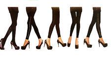 Womens Ladies Diamante Crystal Party Tights Pantyhose Tights Stockings UK 8-14