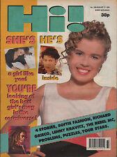 Hi! Magazine 17 August 1991   Richard Grieco   Dexter Fletcher   Rebel MC