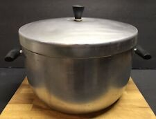 Large Vintage WearEver #768 Aluminum Cook Pot 8 1/2 Quarts w/Lid Made In USA