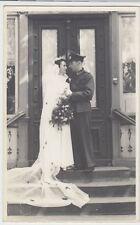 (F1035+) Orig. Foto Wehrmacht-Soldat, Hochzeit, 1940er