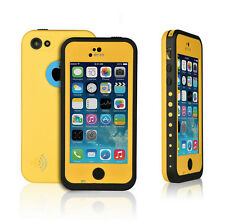 Waterproof Shockproof Case Dirt Durable Cover for Apple iPhone 5c Light Blue