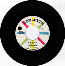 BUDDY KNOX-ROULETTE 4082 ROCKABILLY 45 C'MON BABY VG++/SOME BODY TOUCHED ME  VG+