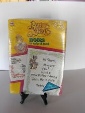 Vtg lot of 2 Nip Precious Moments Coloring, Notes to Send & Mini Boxes Sealed!