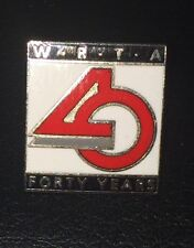 Worcester Regional Transit Authority ~ WRTA 40 Year Anniversary Pin