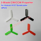 4 PCS 3-Blade Propeller CW/CCW for Hubsan H107 Quadcopter RC Drone Spare Parts