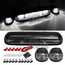 3x Roof Cab Marker Lights 30pcs White LED for 02-07 Chevy Silverado/GMC Sierra