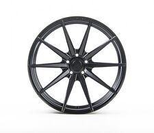 20x9/10 Rohana RF1 5x114 +25 Matte Black Wheels Fits G35 Coupe 350Z 370Z Mustang