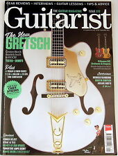 GUITARIST MAGAZINE September 2013 Gretsch Gibson Fender Peavey Ibanez Fishman
