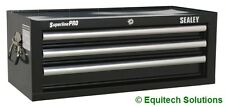 Sealey AP33339B Add On Step Up Toolbox Mid Chest Ball Bearing Runners Black