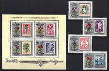 Two In One - Hungary 1971. Budapest Ii. Set + Sheet Garniture Mnh (*)