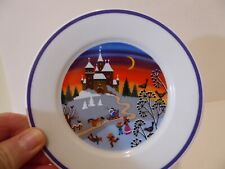 Vintage Gloria Bayreuth Porcelain Plate Wall Decor Hanger West Germany    (S9
