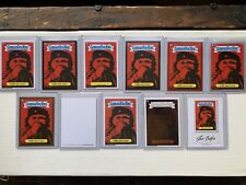 Garbage Pail Kids 2014 Series 1 Che Goo Vara Complete Rainbow With 4 Plates