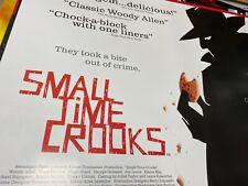 Small Time Crooks (2000) starring Hugh Grant Original UK Quad Poster