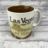 Starbucks Las Vegas Collector Series Coffee Mug 2009 16oz Used As Display Only