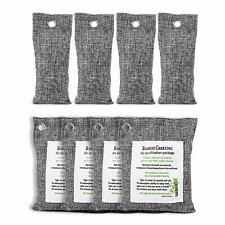 Breathe Green Eco | Charcoal Air Purifying Bag (4*200g+4*50g) | Activated Bamboo