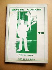 Partitions exercices guitare basse sans cassette /Z67