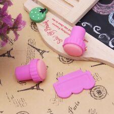 DIY Nail Art Polish Manicure Stamp Set Stamping Plates Scraper Stamper Kit Tool