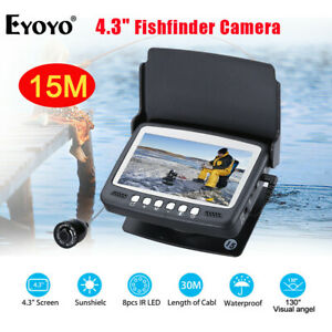 EYOYO HD 1000TVL Sea Fish Finder 4.3'' LCD Monitor Underwater Fish Camera JH