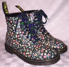 Vintage Womens UK Size 6 USA 8 DR. MARTENS AIRWAIR Flowers Made in England Boots