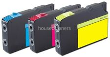 3pk Replacement Lexmark 200XL CMY Ink Cartridges for OfficeEdge Pro 4000 5500