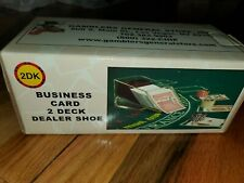 2 Deck Dealer Shoe Brand New