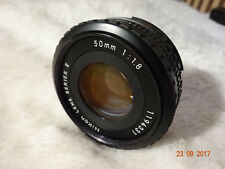 Nikon Series E 50mm F1.8 Pancake Lens - see pictures Condition - Manual Focus