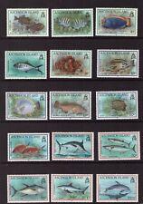 Ascension MNH 1991 Fish Marine Life set mint stamps