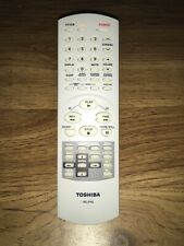 Toshiba Wc-Fn2 Tv Dvd Vcr Combo Remote Comtrol