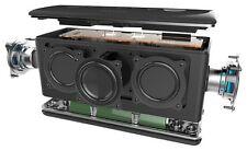 Silver / White Riva Turbo Bluetooth Speaker - NEW