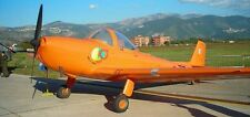 Piaggio P-148 Italy Aerobatic Airplane Handcrafted Wood Model Large New