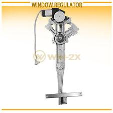 1pc New Front Left Power Window Regulator w/ Motor Fit 90-93 Accord Sedan/Wagon