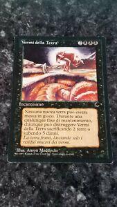 Worms of the Earth - Magic the Gathering MTG The Dark Italian