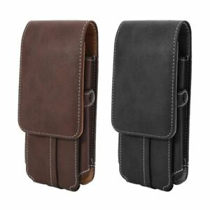 Phone Belt Pouch Case Vertical Holster Clip Universal Flip Holder for Cell Phone