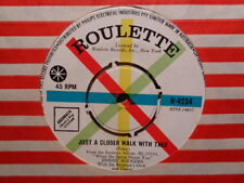 """Jimmie Rodgers """"Just A Closer Walk With Thee"""" 1960 ROULETTE Oz 7"""" 45rpm"""