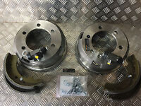 LONDON TAXI TX1 TX2 TX4 & FAIRWAY REAR SHOES/DRUMS/WHEEL CYLINDERS/FITTING KIt