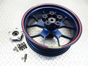 2000 99 00 Aprilia RSV1000 RSV 1000 Mille Rear Wheel Rim Straight Video 17x6 OZ