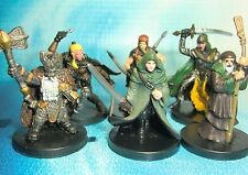 Dungeons & Dragons Miniatures Lot  Player Character Party Elite !!  s114