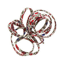 Liberty of London Red Helena's Prado D Cinta Cable 4mm 1m (K44/5)
