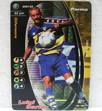FOOTBALL CHAMPIONS Italiano 2001-02 - LUIGI SARTOR - 138/230 PARMA
