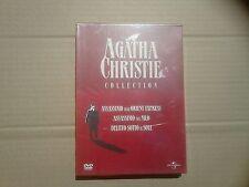 AGATHA CHRISTIE COLLECTION Box Rosso 3 DVD DigiPack Universal NUOVO RARO
