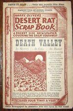 1948 HARRY OLIVER'S DESERT RAT SCRAP BOOK DEATH VALLEY CALIFORNIA Burro Coyotes