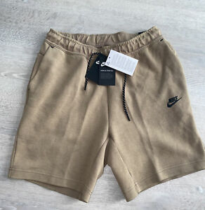 Nike Sportswear Tech Fleece Washed Shorts Taupe Haze CZ9912-229 Men's Sz Large