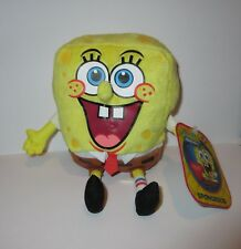 2015 Nickleodeon SPONGEBOB SQUAREPANTS Plush Beanie Toy ~ NWT! Ages 3+