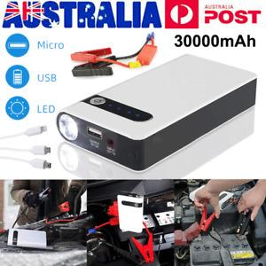 Car Jump Starter 30000mAH Portable Vehicle Charger Power Bank Battery Engine