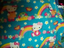 Hello kitty brights toddler great carseat 36x30 fleece personalized Blanket