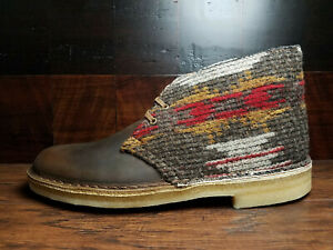 Clarks x Woolrich (26066303) - Desert Boot (Oiled Leather / Wool) Men's 7.5 - 11