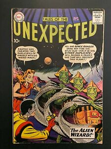 Tales of the Unexpected 49 Mid Grade DC Comic Book CL68-211