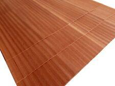 10 x MAHAGONI FURNIER PLATTEN Edelholz Dekor Design Möbel Tisch Tür Anrichte DIY