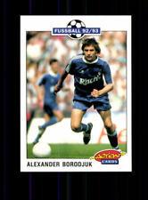 Alexander Borodjuk FC Schalke 04  Panini Action Card 1992-93 + A 183111